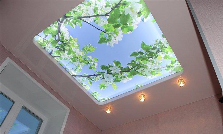 натяжной потолок фото 3 д